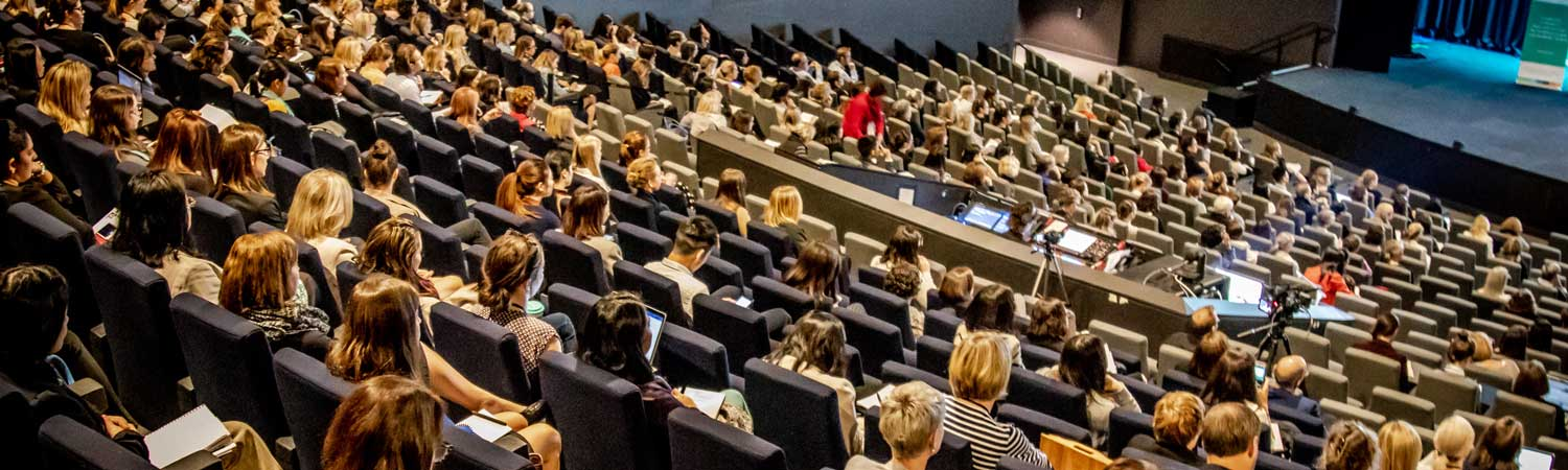 LAttendees at the 2018 Dietitians Australia national conference